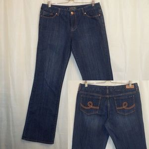 Seven7 Boot Cut Jeans Women's 32 (X 32.5) Blue